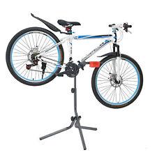 [neu.haus]® Soporte de bicicleta para reparación mantenimiento Gris Rojo Bici