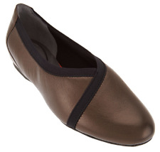 Rockport Total Motion Leather Envelope Flats Metallic Women's Shoes 9.5 New