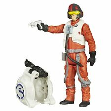 2015 Star Wars The Force Awakens Space Mission Poe Dameron Action Figure