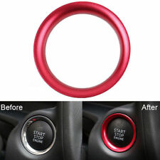 Car Interior Console Engine Start/Push Button Cover Trim Fit Mazda 3 Cool