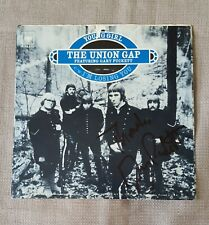 signed Gary Puckett 45 sleeve no record autographed The Union Gap Young Girl
