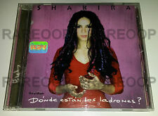 Donde Estan Los Ladrones by Shakira (CD, 1998, Sony Music) MADE IN ARGENTINA
