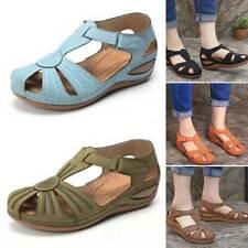 Summer Women Platform Sandals Non-slip Lemon Pattern Soft Bottom Wedges Shoes