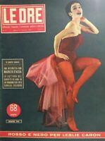LE ORE N.71 1954 LESLIE CARON CATTURA BANDITO DEJANA
