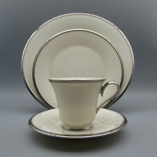 Lenox Fine China MOONSPUN 4pc Place Setting