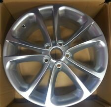 Genuine VW 17x8 ET41 Single Shadow Chrome Alloy Wheel