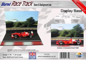 Coastal Kits Blurred Race Track Base & Background set