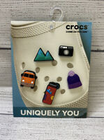 CROCS Jibbitz Shoe Charms Van Life Travel VW Bus Camera 5pcs Free Ship