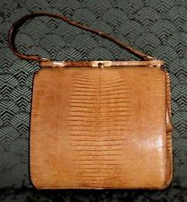 VINTAGE ?Real?Alligator? Woman's  Purse—A Trip Back to the 1950's and 1960's