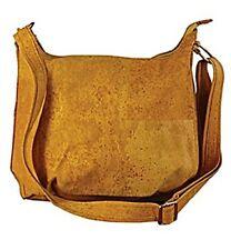 CORX Cork Tote Handbag Evora Rustic Crossbody Strap Vegan Handmade in Portugal