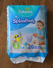 Pampers Splashers Disposable Swim Pants Diapers Size Small S 13-24 LB 20 Count