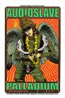 Chris Cornell Audioslave Palladium Silkscreen Poster 2003 Chuck Sperry Firehouse