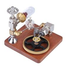 Piston Stirling Engine Model Speed Control External Combustion Steam Engine