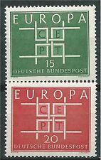 ALEMANIA EUROPA cept 1963 Sin Fijasellos MNH
