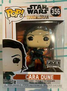 Funko Pop Star Wars - The Mandalorian - Cara Dune #356 - FYE Exclusive