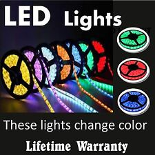 LED tape light - custom sizes - with remote control - beautiful colors