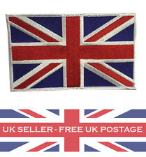 Great Britain/UK Union Jack Cloth Badge Military Army (3.5 inch by 2.5 inch)