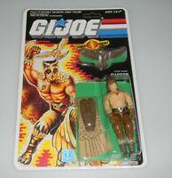 *RECARDED* 1987 GI Joe Cobra Raptor Figure Complete Sealed CUSTOM File Card Back