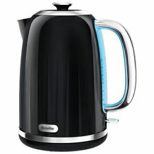 Black Cordless Kettle Breville Impressions Jug Coffe Tea - 1.7 L Cord Storage