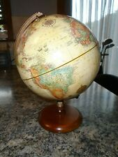 More details for vintage replogle globe raised relief world classic series