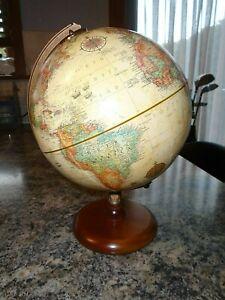 VINTAGE REPLOGLE GLOBE RAISED RELIEF WORLD CLASSIC SERIES