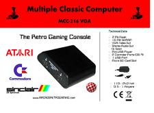 Multiple Classic Computer MCC-216, Amiga, Atari, Sinclair, Spektrum 600 Spiele