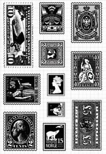 Vintage Character Silicon Transparent Roller Stamps DIY Scrapbook Paper Craft