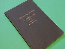A CHRONICLE OF METHODISM IN VAN DIEMEN'S LAND 1820-1840 - R.D. Pretyman