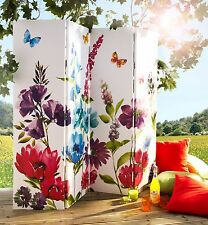 NEW ARTHOUSE ROOM DIVIDER SCREEN DRESSING SCREEN PRIVACY SCREEN COTTAGE GARDEN