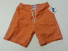 Trunks Swami Shorts Men Size M Peach Orange with Inside Lining Swim Surf Board