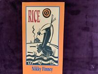 RICE by Nikky Finney 1995 edition SIGNED  paperback book , w free shipping