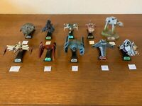 Lot of 10 Star Wars Titanium Series Die Cast with Stands
