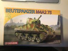 DRAGON Model Kit Beutepanzer M4A2 75 1:72