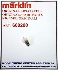 MARKLIN  60020 600200  LAMPADINA BIANCA  GLÜHLAMPE HELL
