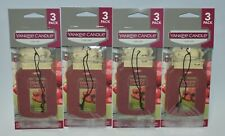 12 YANKEE CANDLE BLACK CHERRY CLASSIC CAR JAR AIR FRESHENER CLOSET HANGING LOT