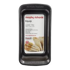 Morphy Richards 970510 Non-stick Aluminised Steel Loaf Pan Graphite Bakeware New