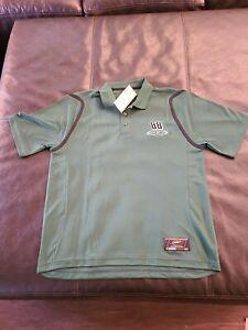 NWT Dale Earnhardt Jr Mens Large Short Sleeve Green Poly Nascar #88 Polo Shirt