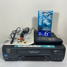 Jvc Hr-A55U Vcr Video Cassette Recorder Vhs Player W/ Remote - Fully Tested