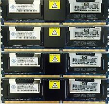 32GB (8x4GB) DDR2 PC2-5300F 667MHz ECC FB memoria Ram Servidores Hp Dell Ibm