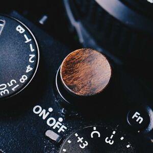 Wooden Wood  Soft Release Shutter Button For Fuji XT3