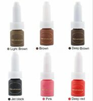 10ML/Bottle Microblading Permanent Makeup Tattoo Ink Pigment Kit Set Eyebrow Lip