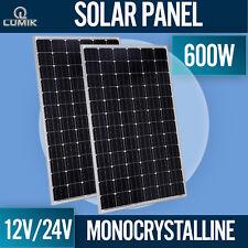 300W SOLAR PANEL MONOCRYSTALLINE 12V 24V MONO CARAVAN BOAT HOUSE OFF GRID