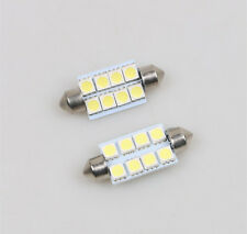 2PCS  Pure White Interior LED Lights Package Kit for 2004-2012 Ford F-150 F150