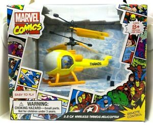 Marvel Comics 2.5CH Wireless Thanos Helicopter w/ Remote Control Marvel Avengers