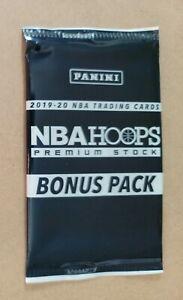 2019-20 PANINI NBA HOOPS PREMIUM STOCK 3-CARD * BONUS PACK * SILVER LAZER PRIZM