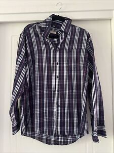 Burberry Mens Button Up Shirt Size 16.5