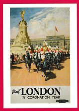 Three advertising postcards. Lifebouy Soap, Bovril, London Coronation Year