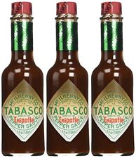Tabasco Brand, Chipotle Hot Sauce, 5oz Bottle 3 Pack