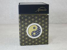 Goebel Porzellan   Yin Yang Schwarz - Dose  Lotus