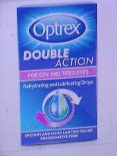 Optrex Doble Acción Para Seco Ojos Cansados Rehidratante Gotas